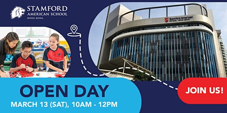 Stamford American School Open Day tickets