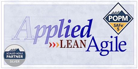 SAFe® Product Owner/Manager (POPM) 5.0, ONLINE Apr 24-25 Lean Agile Guru tickets