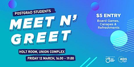 Post Grad Students Meet N' Greet tickets