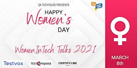 WomenInTech Talks 2021 - Women's Day Special tickets
