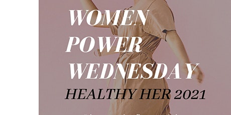 """Black Wall Street  Chamber Presents   WOMEN POWER WEDNESDAY """"HEALTHY HER"""" tickets"""