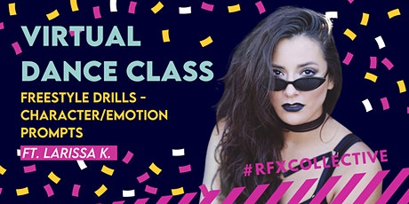 ONLINE: Freestyle Drills - Character / Emotion Prompts  w/ Larissa K. tickets