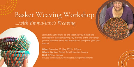 Basket Weaving Workshop with Emma-Jane's Weaving tickets
