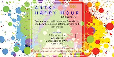 Copy of Artsy Happy Hour tickets