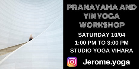 Pranayama and Yin yoga Workshop tickets