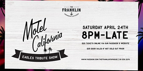Motel California - Eagles Tribute show tickets