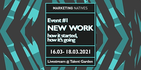 Event #1: New Work – how it started, how it's going Tickets