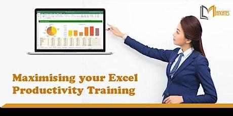 Maximising your Excel Productivity  1 Day Training in Hamilton City tickets