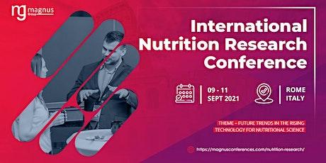 International Nutrition Research Conference biglietti
