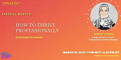SYNAPSE QA Virtual Meetup: How to thrive professionally