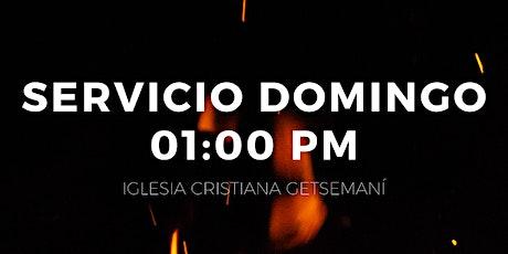 Servicio 01:00 pm boletos