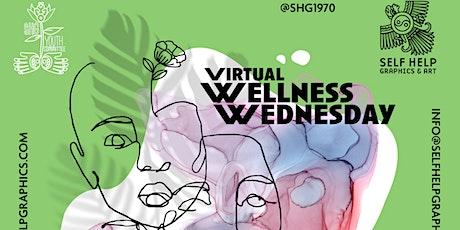 Wellness Wednesday: Mending Through Poetry tickets