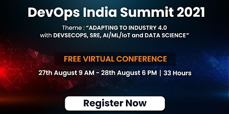DevOps India Summit 2021 tickets