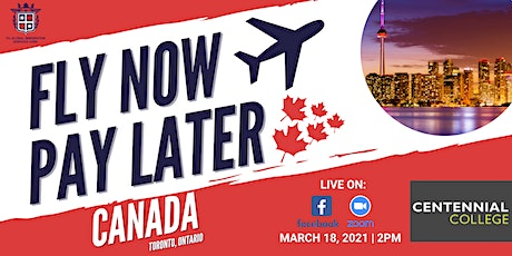 FLY NOW PAY LATER WITH CENTENNIAL COLLEGE! tickets