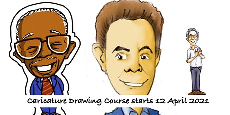 Caricature Drawing Course starts  April 12  (8 sessions) tickets