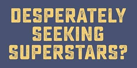 Desperately Seeking Superstars tickets