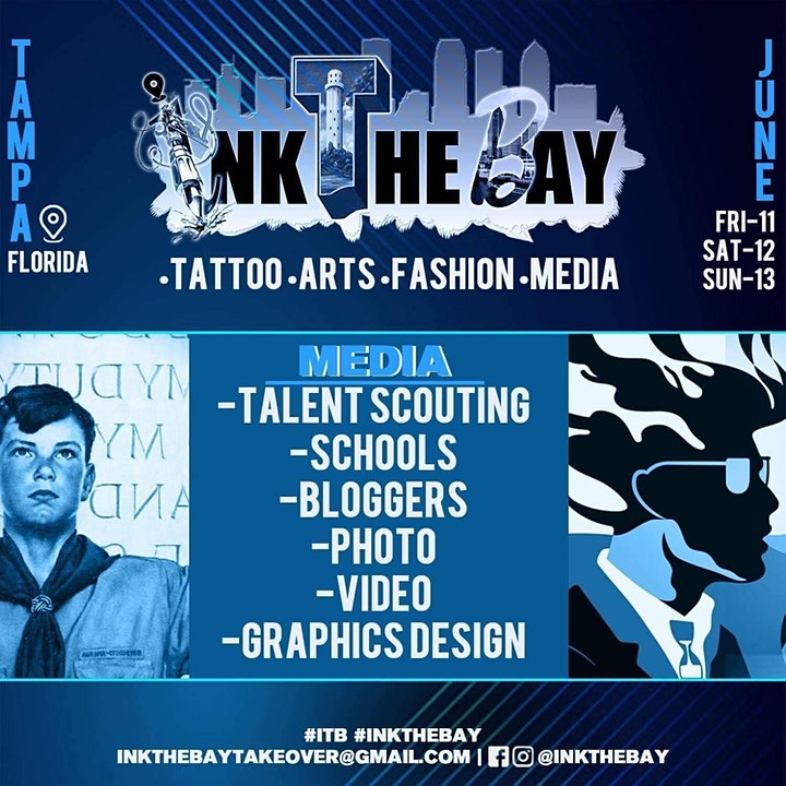 INK THE BAY CONVENTION ``/ TATTOO ARTS FASHION MEDIA / TAMPA CONVENTION CEN image