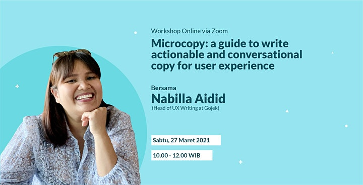 Microcopy: A guide to write actionable and conversational copy for UX image