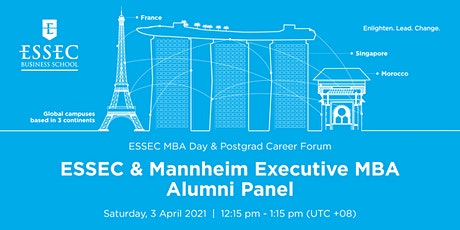 ESSEC & Mannheim Executive MBA alumni panel tickets