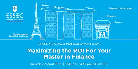 Maximizing the ROI for your Master in Finance tickets