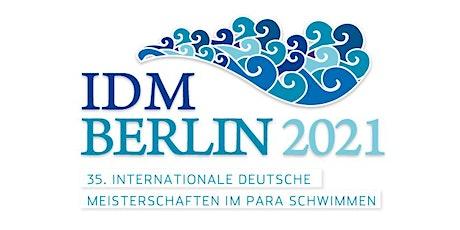 Freiwillige Helfer_innen: IDM Schwimmen für Menschen mit Behinderung 2021 billets