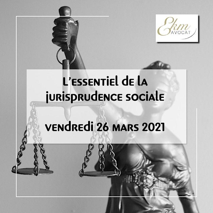 Image pour L'essentiel de la jurisprudence sociale du 1er trimestre 2021