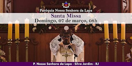 SANTA MISSA - 07/03 - Domingo - 8h ingressos
