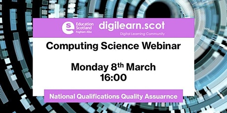 Computing Science: National Qualifications assessment and quality assurance tickets