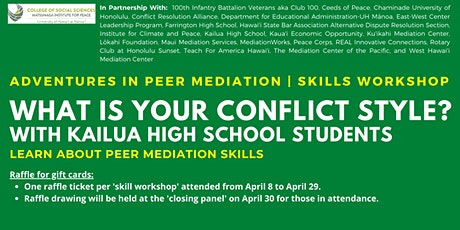 What Is Your Conflict Style? | Skills Workshop tickets