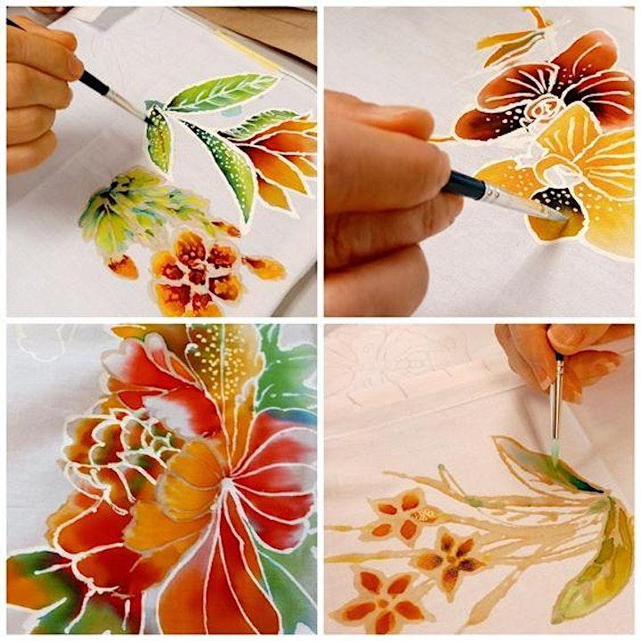 Batik Painting Course starts April 24 (8 sessions) image