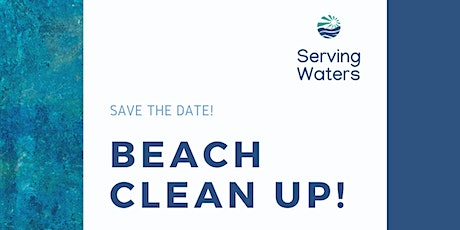 ServingWaters Beach Clean Up! tickets