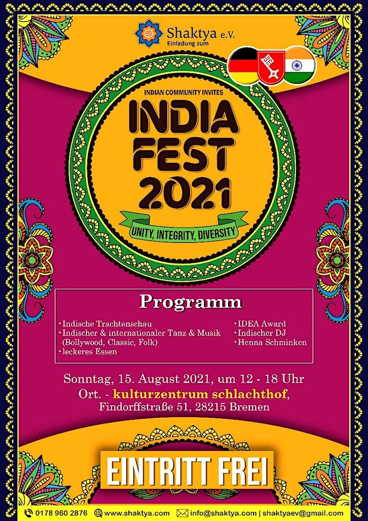 6th India Fest- 2021: Bild