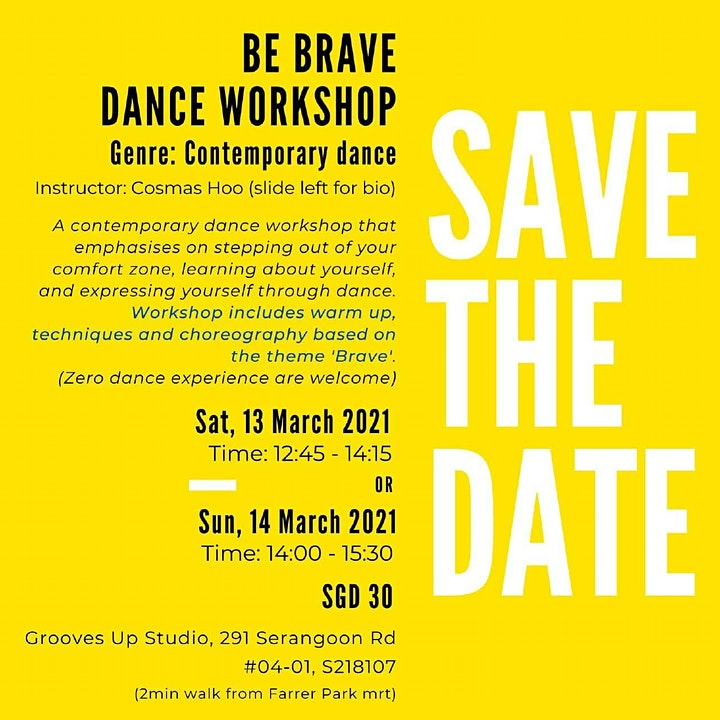 Be Brave Dance Workshop image