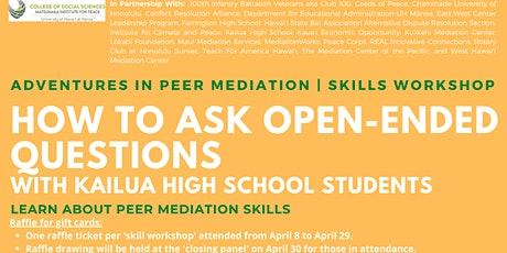 How To Ask Open-Ended Questions   Skills Workshop tickets