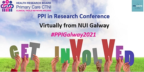 Public and Patient Involvement (PPI) in Research conference, Galway tickets