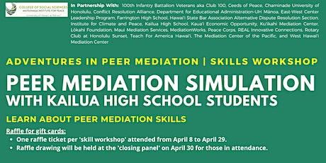 Peer Mediation Simulation | Skills Workshop tickets