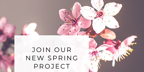 SLOW Stitch Community Project  Spring has Sprung by  DONATION tickets
