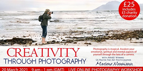 Creativity through Photography with Marlene Neumann - Taster workshop tickets