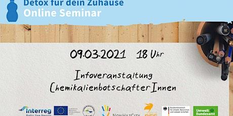 Letzte Infoveranstaltung: Werde Chemikalienbotschafter*in! Tickets