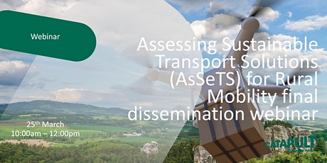 Assessing Sustainable Transport Solutions  (AsSeTS) for Rural Mobility tickets
