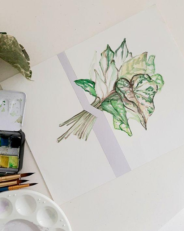 Watercolour Painting  Course - Beginners starts Aug 7 (8 sessions) image