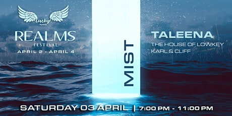 Boat Party // Lucky Presents // Realms 'MIST' ft Taleena tickets
