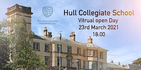 Hull Collegiate School - Virtual Open Day tickets