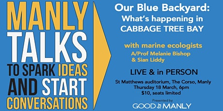 Our Blue Backyard: What's happening in Cabbage Tree Bay tickets