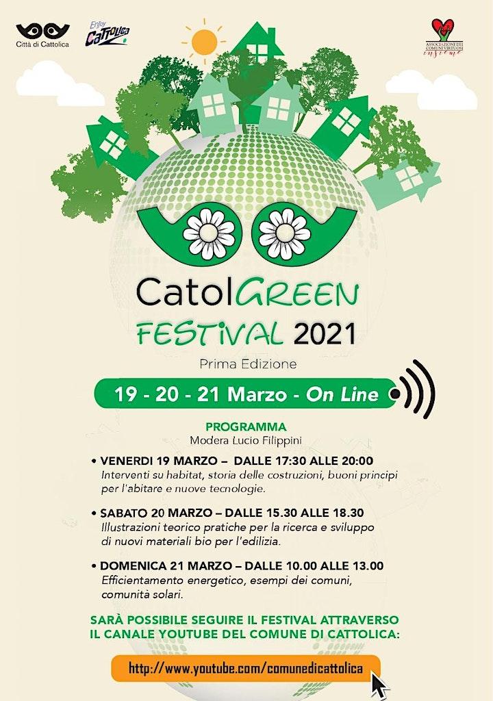 Immagine CatolGreen - 19/20/21 Marzo 2021 - Prima edizione