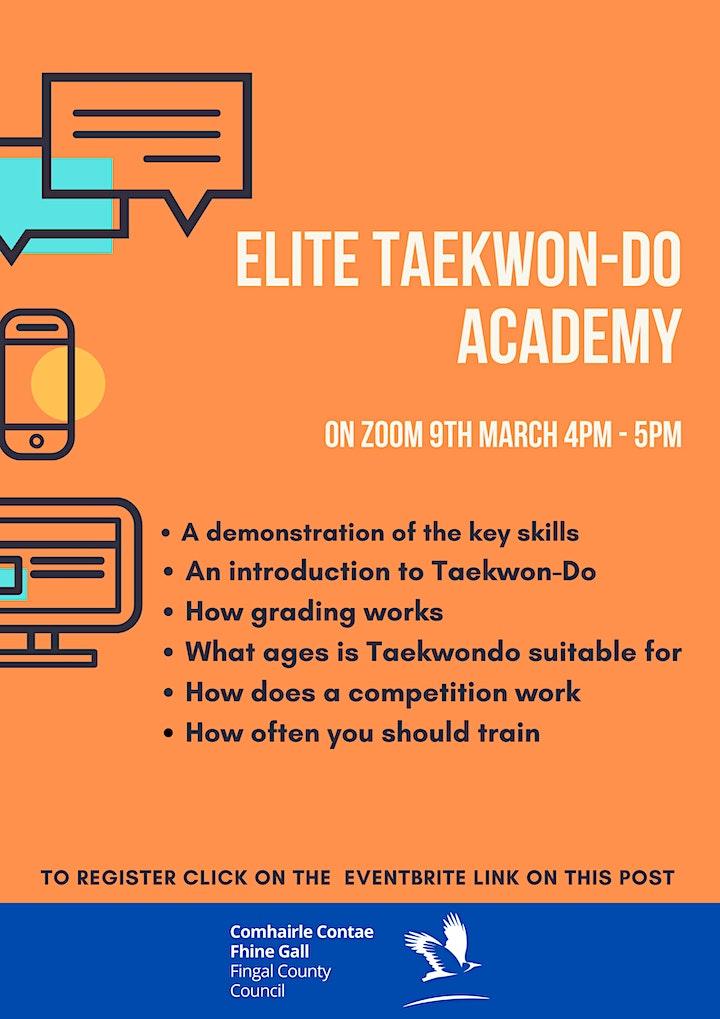 Elite Taekwon Do Academy - Demonstration and introduction to Taekwon-Do image