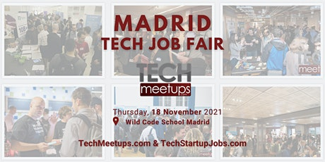 Madrid Tech Job Fair 2021 tickets