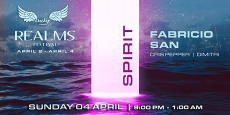 Boat Party // Lucky Presents // Realms 'SPIRIT' ft Fabricio San tickets