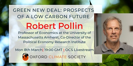 Green New Deal: Prospects of a Low Carbon Future tickets
