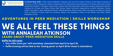 We All Feel These Things | Skills Workshop tickets